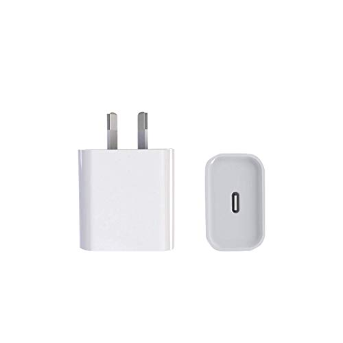 N-B European Standard Plug(US/EU/UK Fast Charger, PD 20W And Type C Fast Wall Charging Adapter For IPad IPhone 12 Pro Max