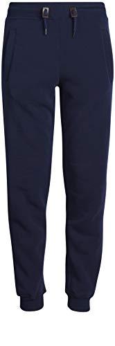 Galaxy by Harvic Boys Active Basic Fleece Jogger Pant, Navy, Large/14-16'