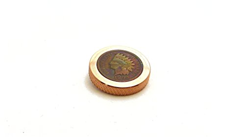 THE FLATTOP - COPPER INDIAN HANDMADE EDC SPINNING TOP - MADE IN THE USA- Gift for Dad