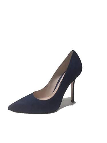 Liu Jo Marilyn Decolletè 100,SXX523P0021 Scarpa Donna, decoltè Tacco Alto, camoscio, Suede (39 EU, Blue)