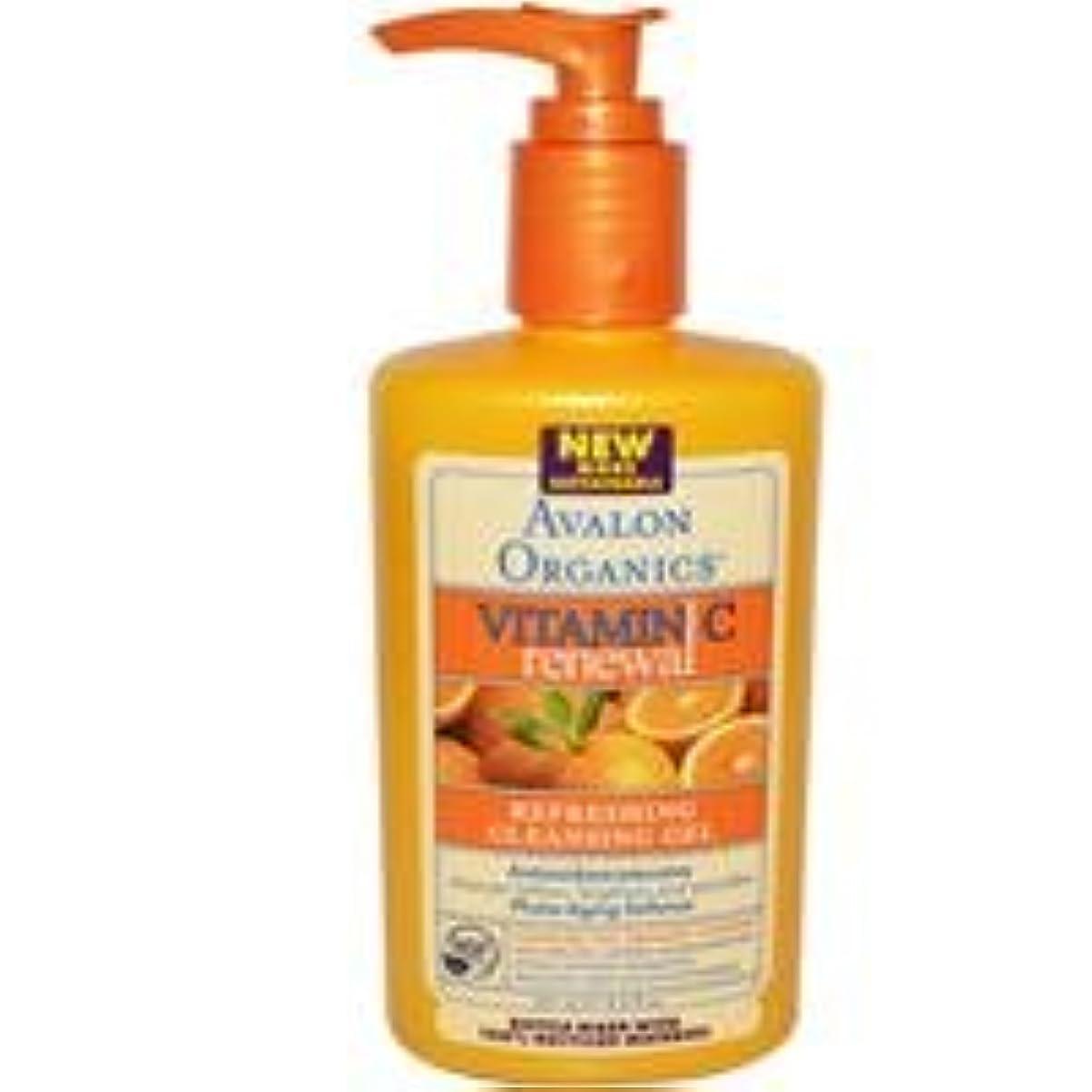 避難矛盾するあいまい[海外直送品] アバロンオーガニック(Avalon Organics)    ビタミンC クレンジング ジェル 251ml