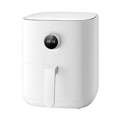 XIAOMI Mijia Smart Air Fryer - Freidora Sin Aceite, Capacidad 3.5 L, regulable 40-200º, Apagado automático, con Recetas, Pantalla OLED, 1500W, Asistente de voz Google y Alexa integrado. (Color Blanco)