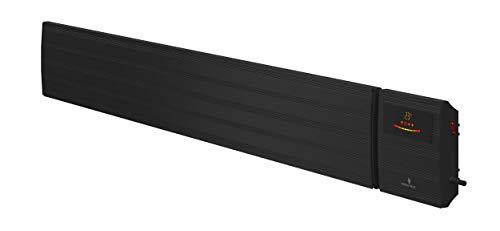 Noble Heat Panther - Estufa eléctrica (2600 W, con temporizador, pantalla LED,...