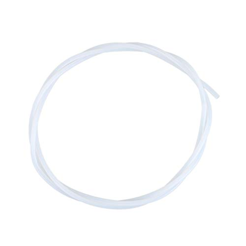 HUANRUOBAIHUO 1M Lengte 2mm ID 3mm OD PTFE-Pipe tuinslang for 3D Printing for RepRap Witte 3d Sensor for Hotend Trianglelab Bltouch Titan Extruder extruders Components (Color : White)