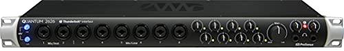 PreSonus Quantum 2626 26x26 Thunderbolt 3 Audio Interface M1 Chip Compatible, 26x26-8 Mic Pres