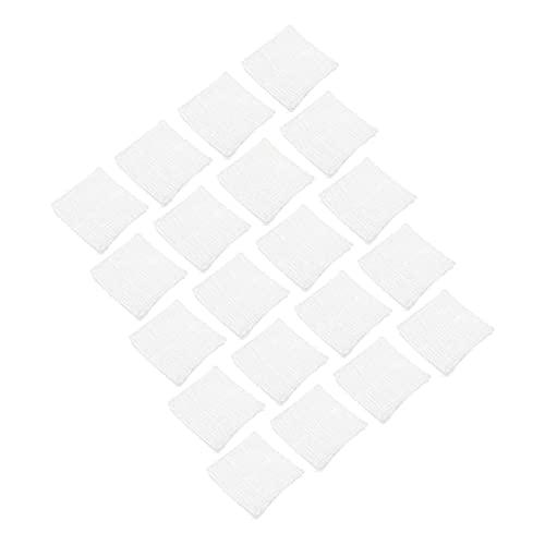 DOITOOL 24 Unidades de Almohadillas de Gasa para El Vendaje de Heridas Almohadillas de Vendaje No Adhesivas No Tejidas para El Hogar
