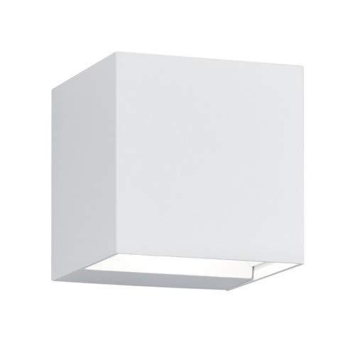 Trio Leuchten Adaja 226860231 LED Außen Wandleuchte, Aluminium, 2 x 3 Watt, Weiß