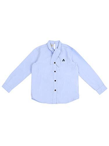 Scalpers Camisa Lazada Cuello - Herringbone Blue / 4
