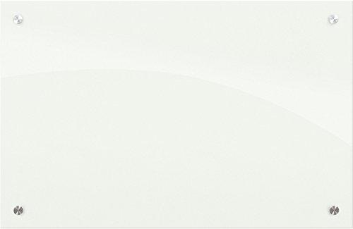 Best-Rite Enlighten Glass Dry Erase Whiteboard, Glossy White 1/8 inch Tempered Glass, 2 x 3 Feet