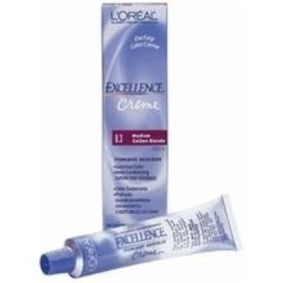 L'oreal Excellence Creme Permanent Hair Color, Medium Blonde No.8, 1.74 Ounce by L'Oreal