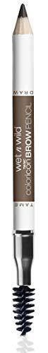 Wet N Wild Augenbrauenstift - Coloricon™Brow Pencil / 2-in-1 Augenbrauenstift mit Naturwachs und Bürste, Brunettes Do It Better, 1 Stück