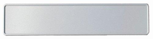 KFZ-Kennzeichen 520 x 110 mm, reflektierend, weiß ohne EU, Autoschilder mit Wunschkennzeichen Wunschtext