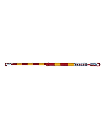YW Falten Stahl Up Schleppstange 5-Tonnen-Tow zusätzliche Sicherheit Abschleppanhängerkupplung mit Feder-Dämpfer-1.8m in der Gesamtlänge