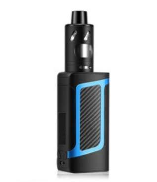 Mishuai E-Zigarette echte Set 80W Dampf Rauch Wasserpfeife Raucherentwöhnung Artefakt Produkt Super Rauch (Color : Blue)