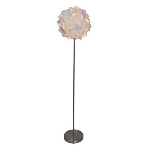 Lámparas de Pie De acero inoxidable de flores protección del medio ambiente creativo interruptor de pie pantalla de la lámpara lámpara de pie nórdica vertical de la lámpara estándar 61' Lámpara de Pis