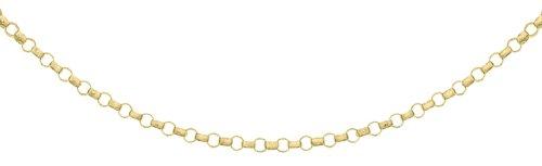 Carissima Gold Damen 1.3 mm Rund Belcher Halskette 9k (375) Gelbgold 41 cm/16 zoll 1.14.1453