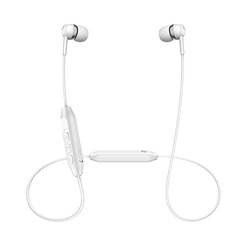 Sennheiser CX 150BT Auricolari Bluetooth con Necklet, Bianco