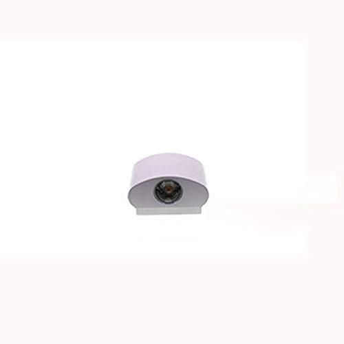 Yfnhy 2 st. LED-vägglampa, 2 W varm vit kall vit ljus innervägglampa, vattentät vägglampa 2 W 2 st trädgårdsportal-Ip65 utomhus varm vit