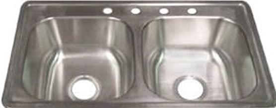 Mobile Home Kitchen Sink Drain for Double Bowl