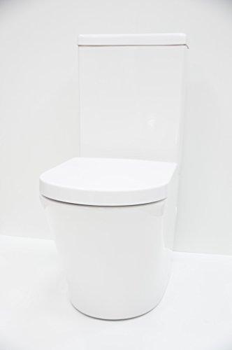 Sanitario Nativo serie Alba Plus completo con asiento amortiguado ThermoDur categoría U.F.