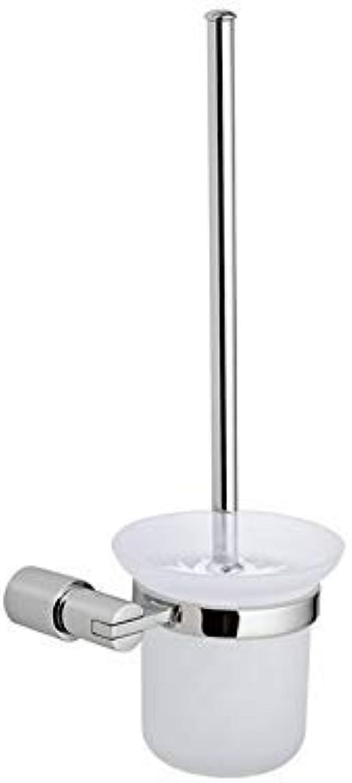 XIAOL Home Toilettenbürste und Halter Badezimmer Zink-Legierung Toilettenbürstenhalter Badezimmer Anhnger