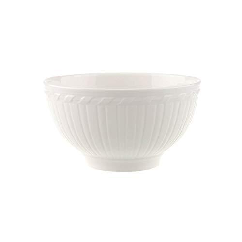 Villeroy & Boch Cellini Bol, Porcelaine Premium, Blanc