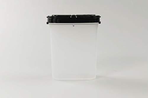 Tupperware Especieros 270 ml Negro