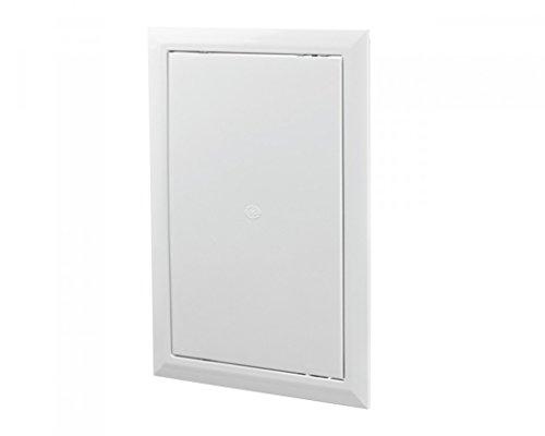 250x400mm Durable Panel Inspección Puerta Acceso Blanco Escotilla ABS Plastico