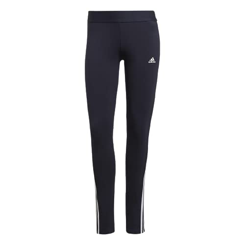 adidas W 3S Leg Maglie, Blu (Tinley)/Bianco, S Donna