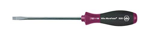 WIHA 29118 - Destornillador MicroFinish 5520 MicroFinish 5,5 x 125 mm Ref. 5520055125