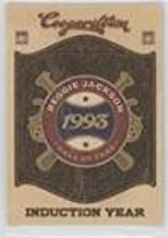 Reggie Jackson (Baseball Card) 2012 Panini Cooperstown - Hall of Fame Classes - Induction Year #15