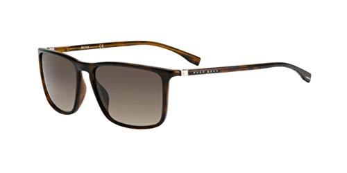 Hugo Boss Boss 0665/N/S Gafas, DARK HAVANA/BW BROWN, 57 Hombres
