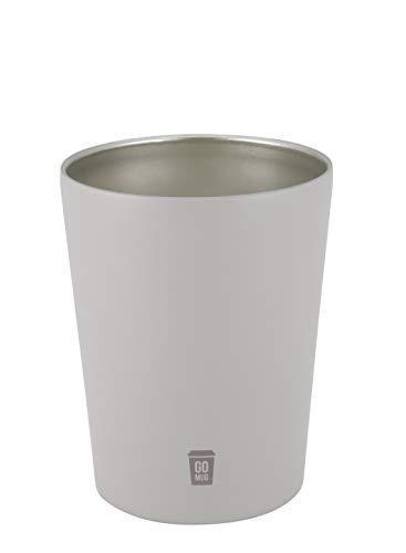 シービージャパン タンブラー ベージュ 300ml Sサイズ 保温 保冷 コンビニ コーヒーカップ ステンレス 真空 断熱 GOMUG