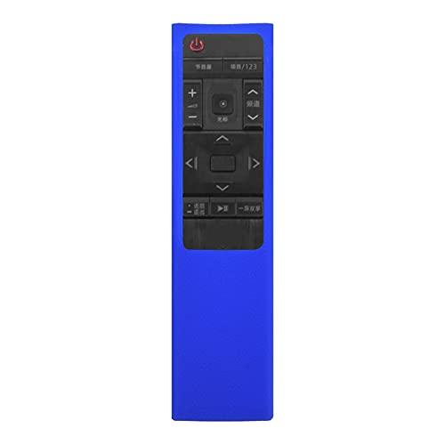 haode Funda Protectora De Silicona Protectora A Prueba De Choque para Samsung Bn59-01220g TV Remoto Azul Pequeño Y Compacto Home Cinema TV Accesorios De Video