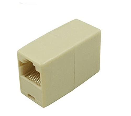 CML 10 stücke Netzwerk Ethernet Dual gerade Kopf LAN-Kabel-Schreiner-Koppler RJ45 CAT 5 5E 6 6A Extender Plug Network Cable Connector
