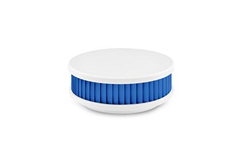 Pyrexx PX-1 Rauchmelder aquablau / weiß