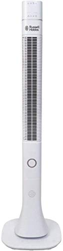 RUSSELL HOBBS Tower Fan 48 Inch with Sensor Remote for Home, Office & Kitchen, White, RTF4800