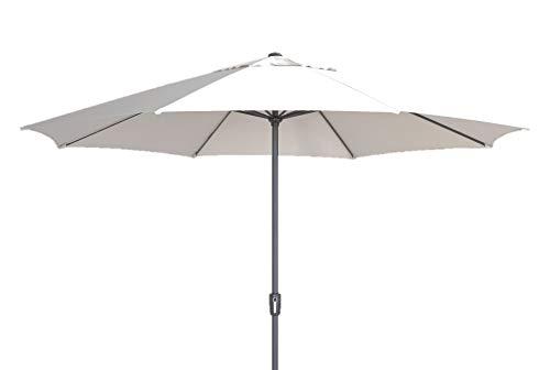 Madison XXL Sonnenschirm Sumatra 400 Off White, mit UV-Schutz 40 Plus