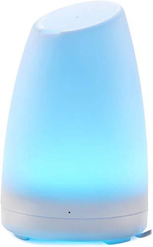 Aroma difusor–Andrew James 120ml LED cambia de color la aromaterapia humidificador ultrasónico, purificador de aire