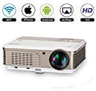 Smart WiFi Projector Home Theater with Zoom,LED 2600 Lumens TFT LCD Android Wireless Proyector, Digital HD Video Projector...