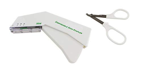 Comdent - Einweg-Hauttacker 35 W und Klammerentferner.