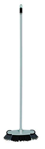 Elliott Stiff Fibres - Scopa per Interni, Colore Grigio