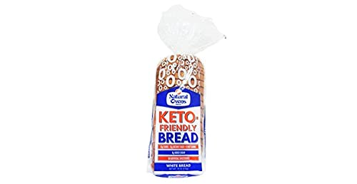Natural Ovens Keto-Friendly White Bread (Pack of 3, 2 x 18 oz Each)- Low Carb, No Artificial Sweeteners or Flavors - Sliced Sandwich Bread