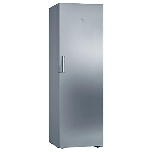 Balay 3GFF563XE - Congelador vertical, 1 puerta, 186 x 60 cm, acero inoxidable antihuellas