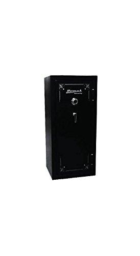 Homak HS50121240 24-Gun 14.96-Cubic Feet Mechanical Combination Lock Fire Resistant Steel Safe, Black