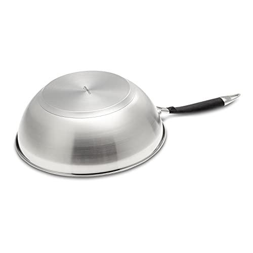 Amazon Basics - Sartén wok (28 cm)