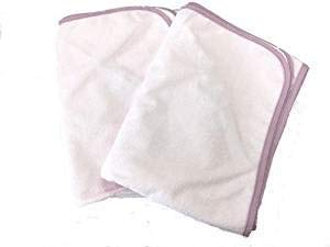 【2枚セット】防水シーツ セミダブル デイリーパイル おねしょシーツ (120×205cm)フラットタイプ (ピンク) 【5色9サイズ】