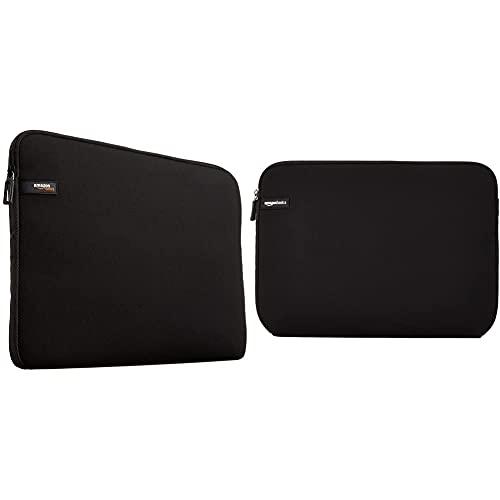 AmazonBasics Laptop Sleeve for 13.3-Inch Laptop / MacBook Air / MacBook Pro / MacBook Pro Retina Display Black & Laptop Sleeve for 14-Inch Laptops