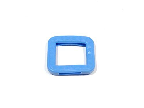 REMA Schlüsselkappen für eckige Schlüssel 25 mm x 25 mm Einzeln und als 10er Sets (10 Kappen, Hellblau)