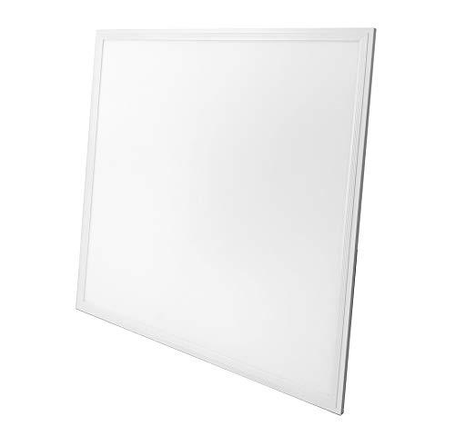 LED Panel Einbau   620 x 620mm   62x62   40W   LED   3200 Lumen  Ultraslim  einbaupanel   Rasterleuchte   Einlegeleuchte   Deckenleuchte   Odenwalddecke   Einbauleuchte   kaltweiß (6000 K)